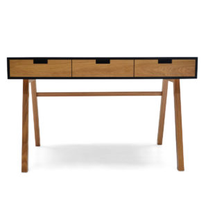 writing desk oak corian