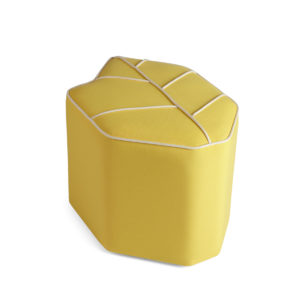 outdoor pouf yellow sunbrella