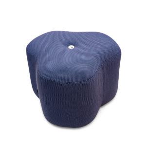 poppy bloom stool blue