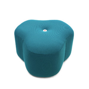 poppy bloom stool petrol