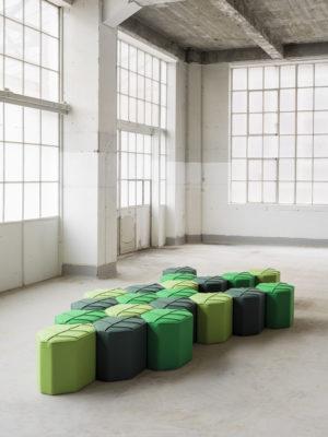 modulair pouf leaf seat