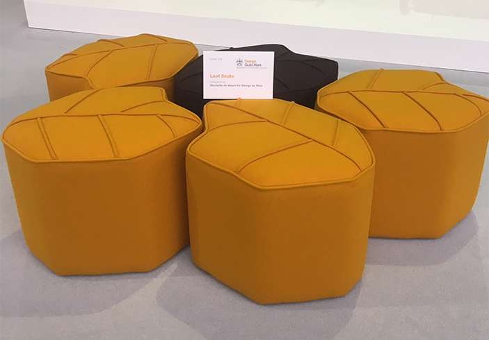Poufs at Design London!