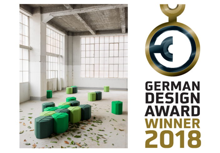 german design award 2018 leaf seat