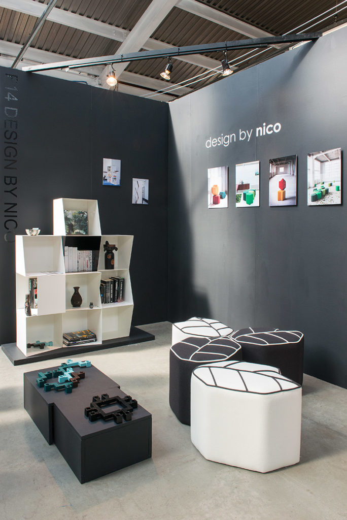 Nicolette de waart's stand at Tent London